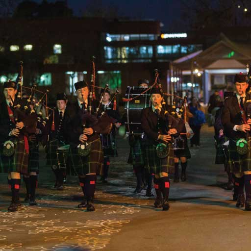 The Scots School Pipe Band